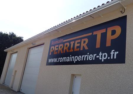 Bâtiment société ROMAIN PERRIER TP